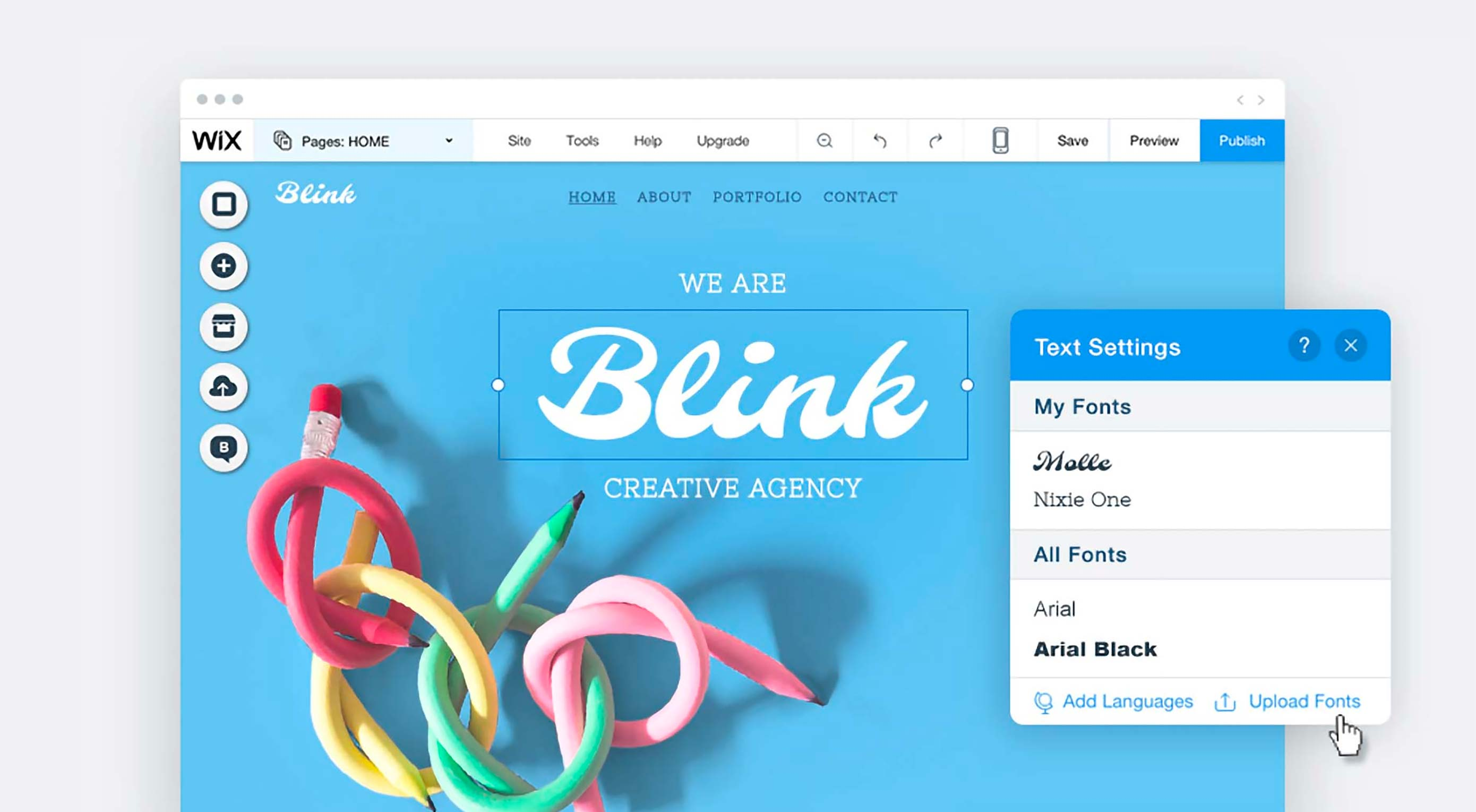 Find Your Creative Freedom Online with Wix