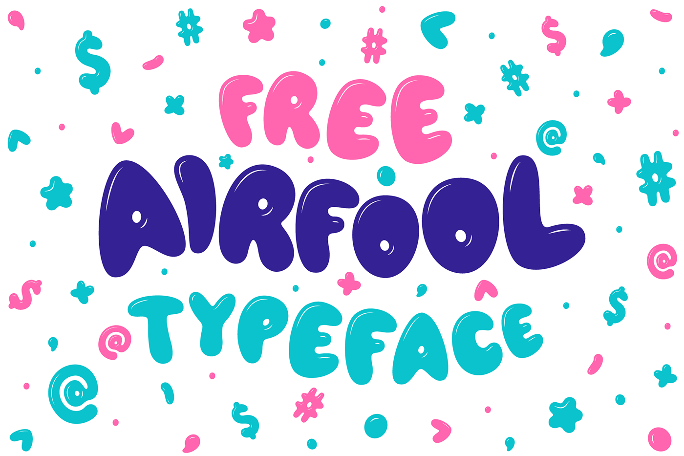 Free Download: Airfool Typeface