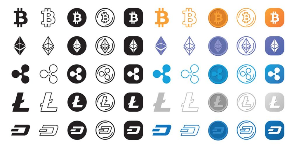 Free Download: 280 Free Cryptocurrency Icons