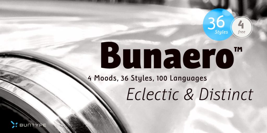 Free Download: Bunaero Type Family