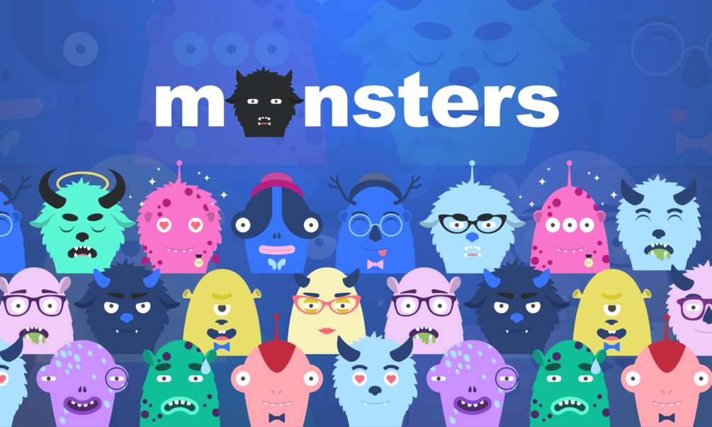 Free Download: Monsters for Sketch