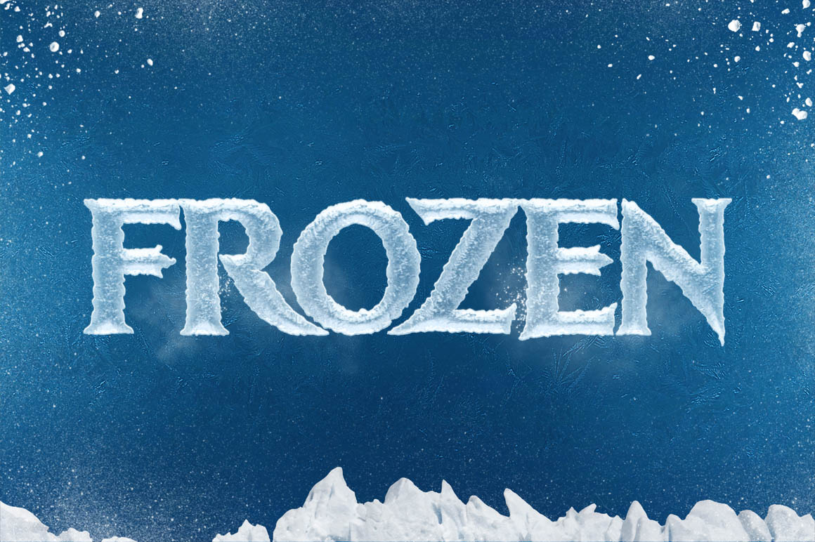 Free Download: Ice Cool Text Effects