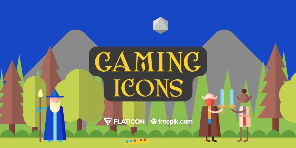Free Download: Gaming Icons