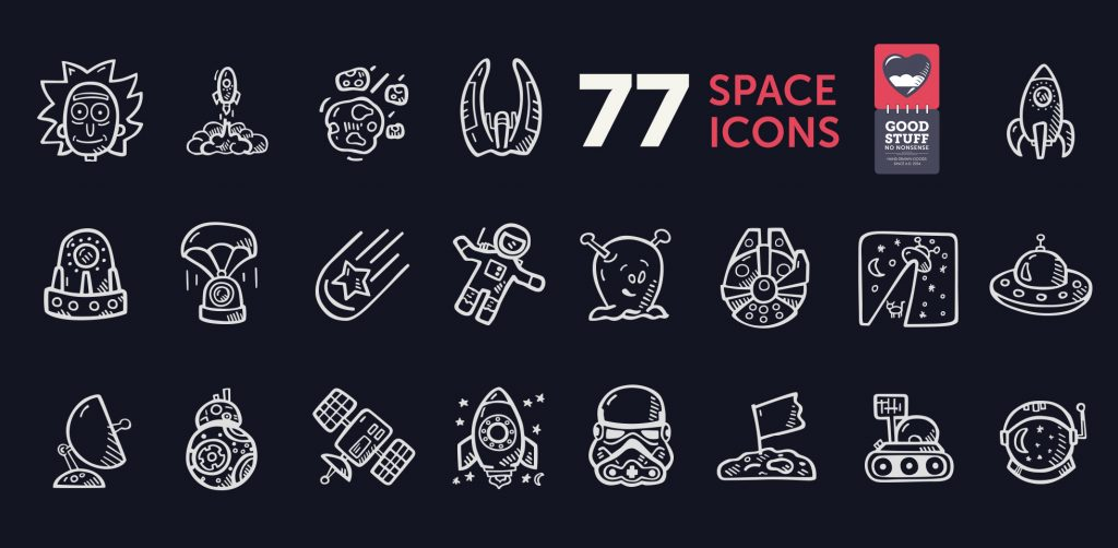 Free Download: Space Icons