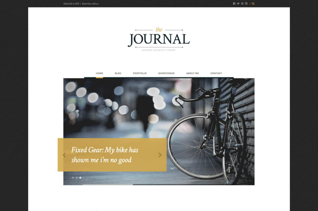 Free Download: The Journal WP Theme