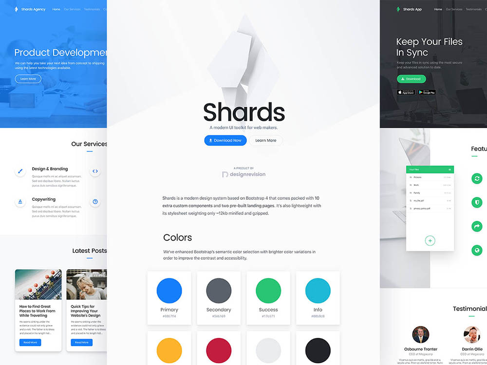 Free Download: Shards UI Toolkit