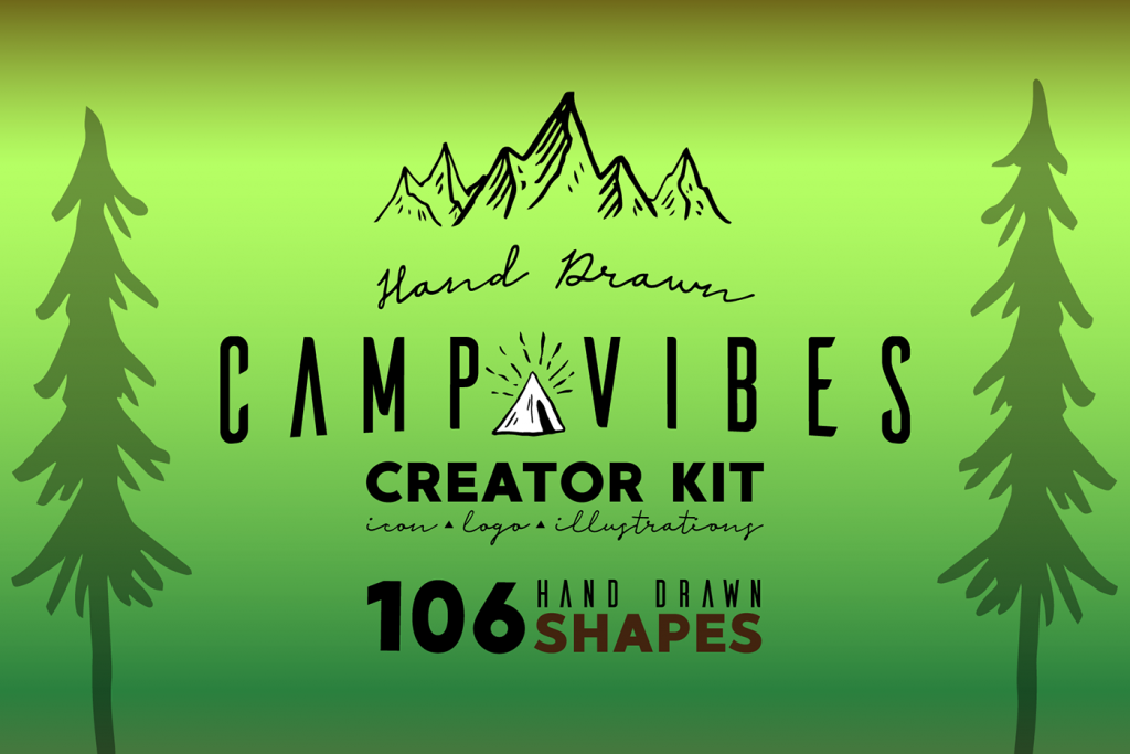 Free Download: Camp Vibes Creation Kit