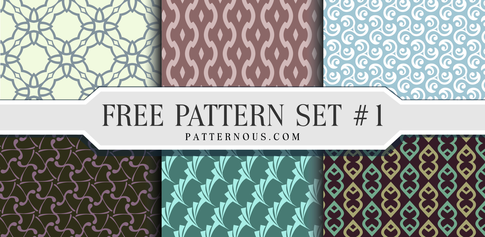 Free Download: Seamless Pattern Set
