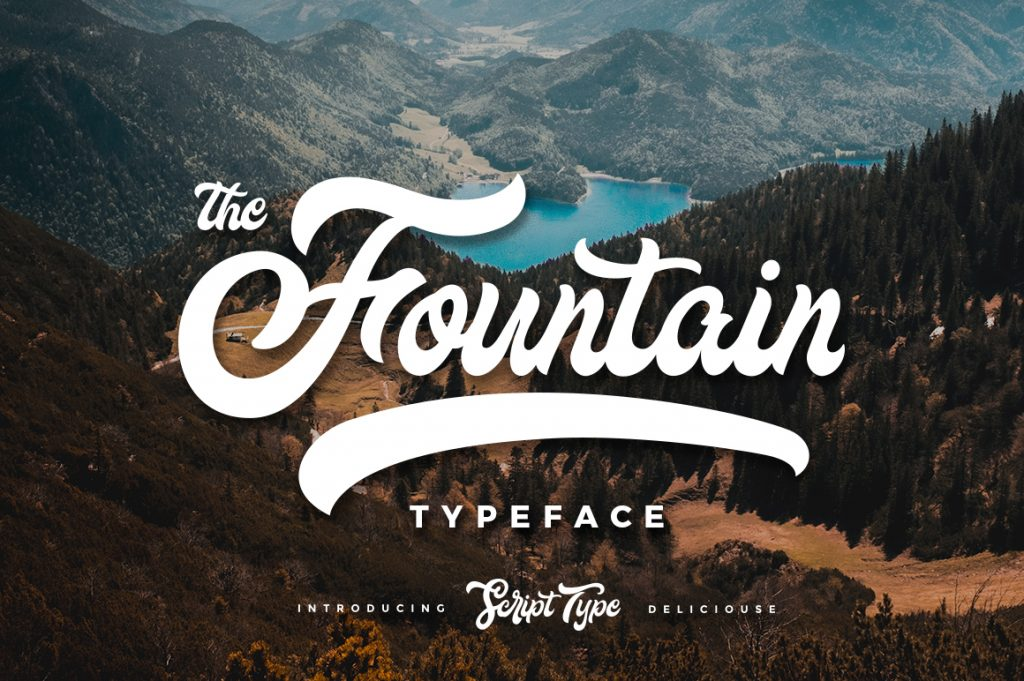 Free Download: Fountain Font