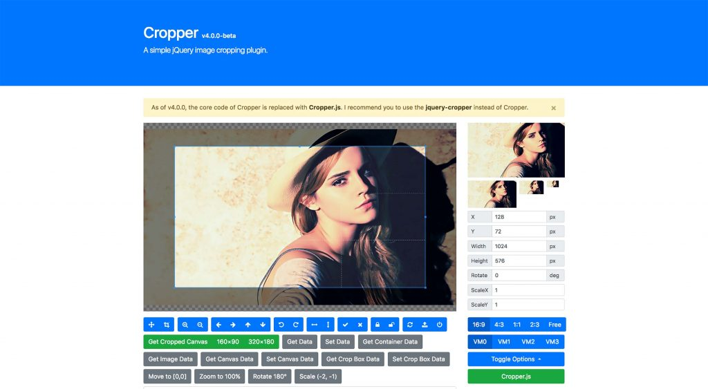 8 Free JavaScript Image Cropping Scripts & Plugins