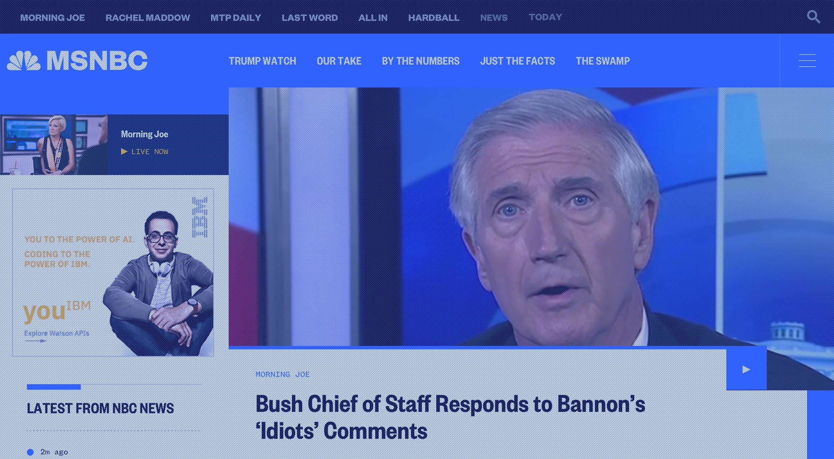 NBC Unveils Ambitious Redesign