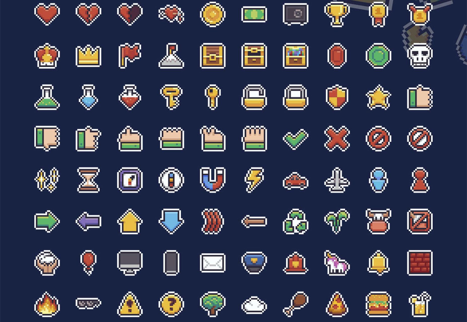 pixel-icons