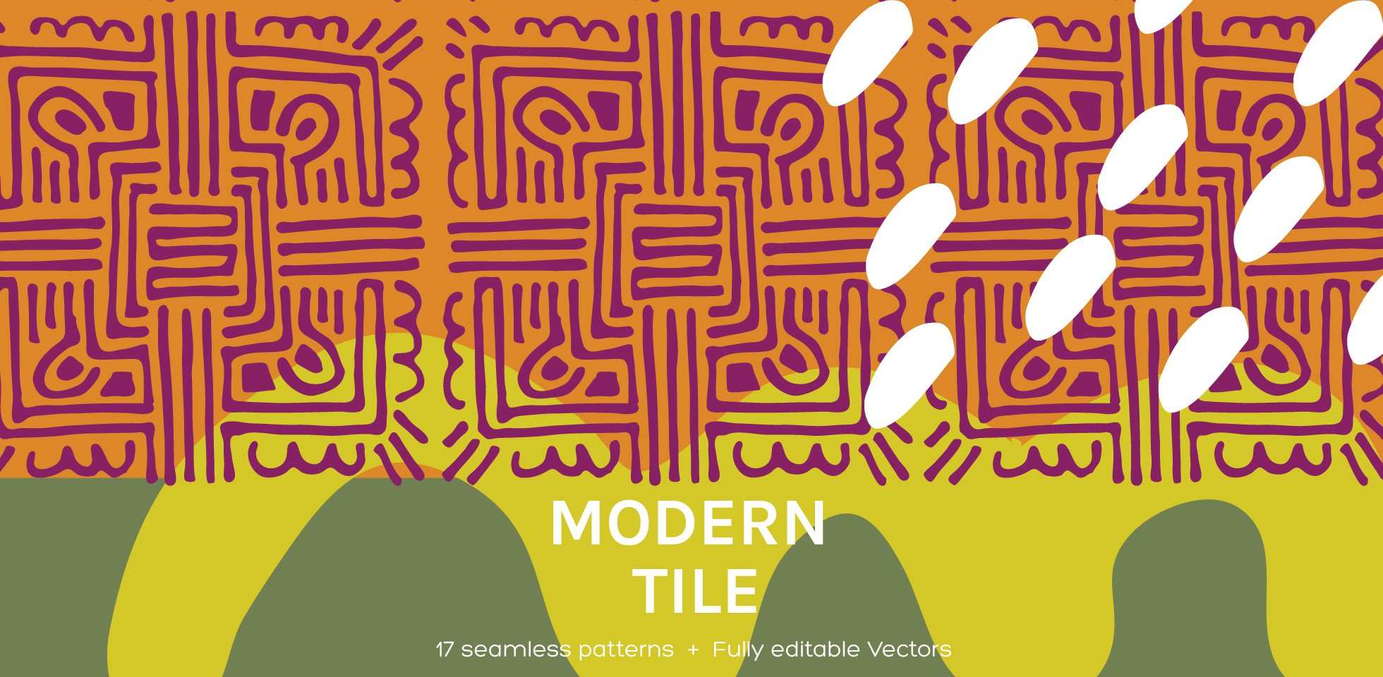Free Download: Modern Tile | Seamless Patterns