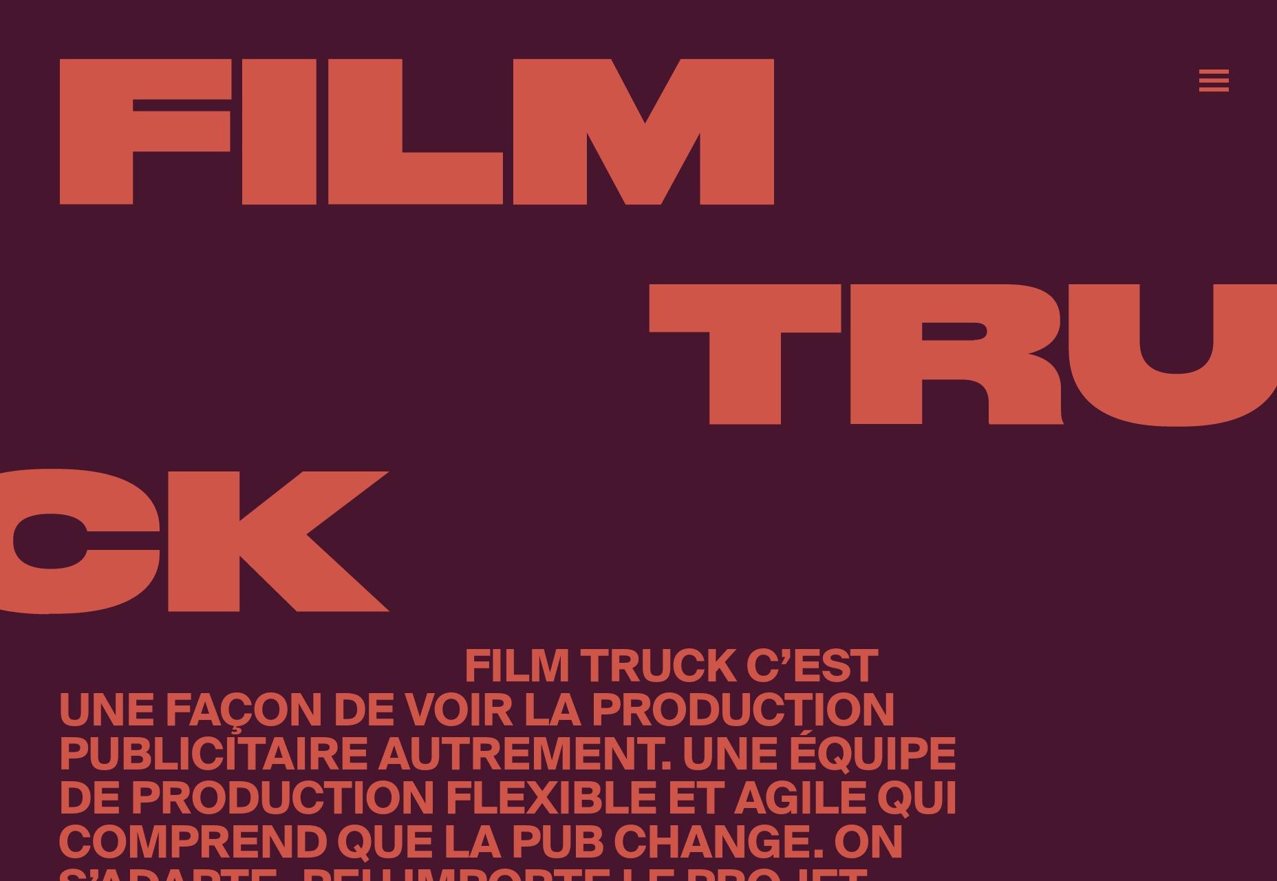 11.5 - Film Truck
