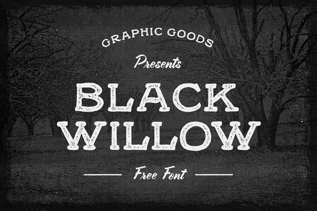 Free Download: Black Willow Font