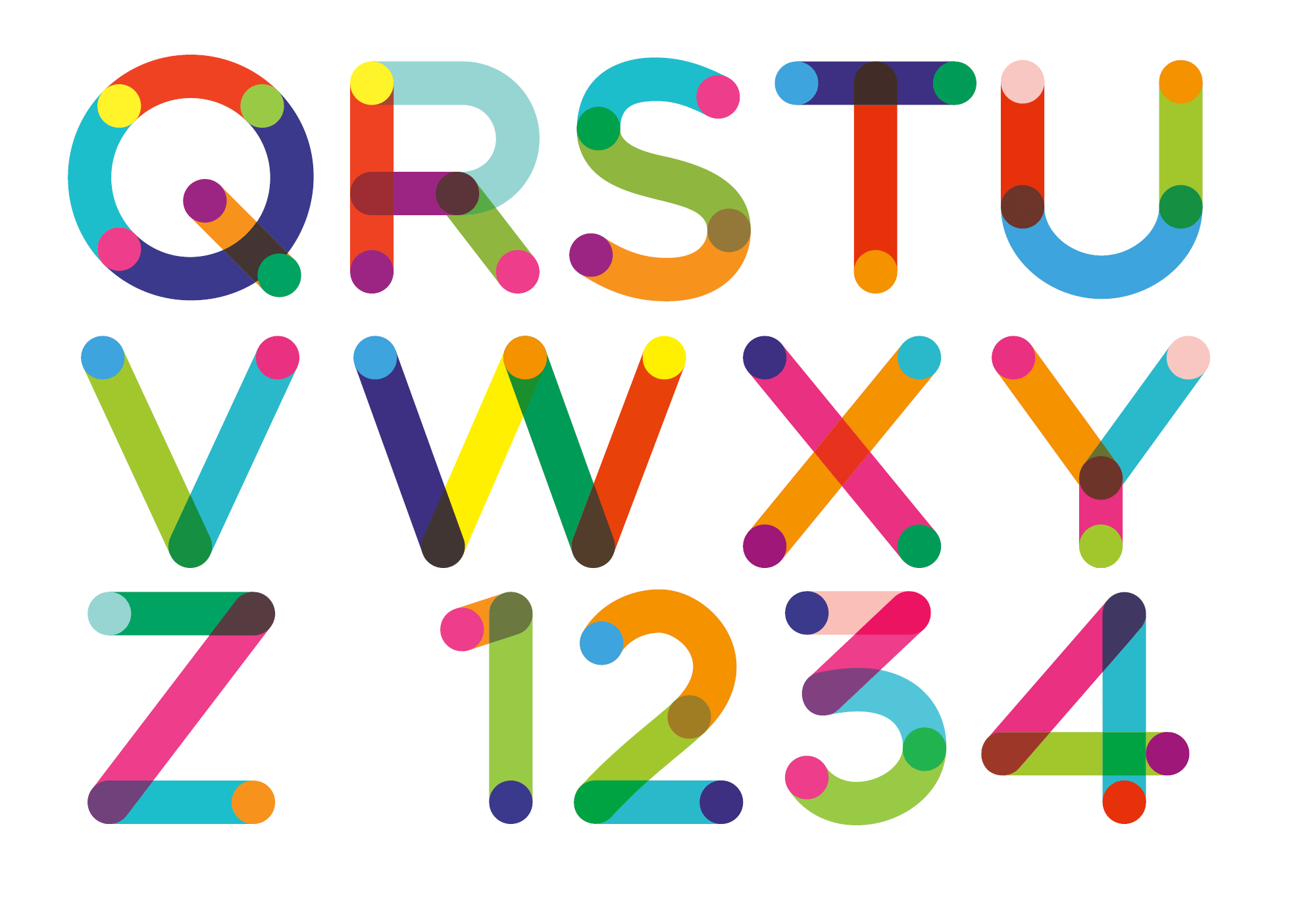 free download  colortube font