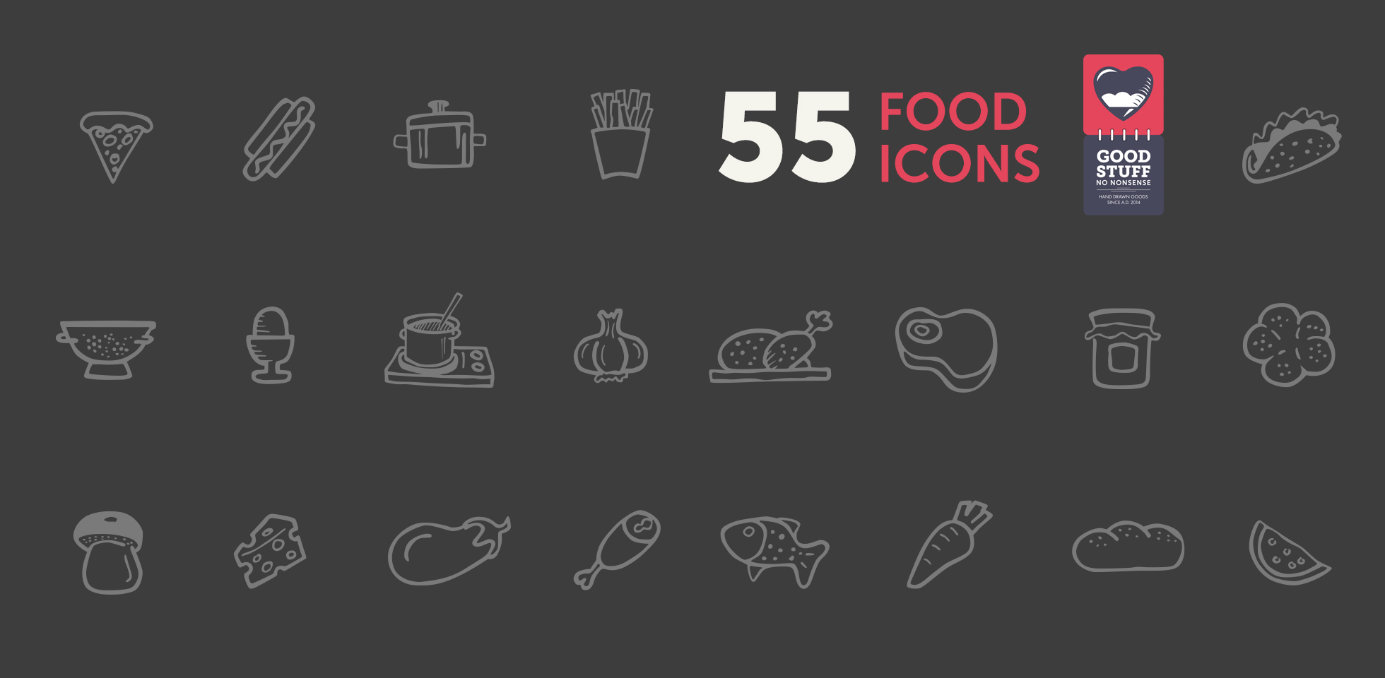 Free Download: Cooking Icons
