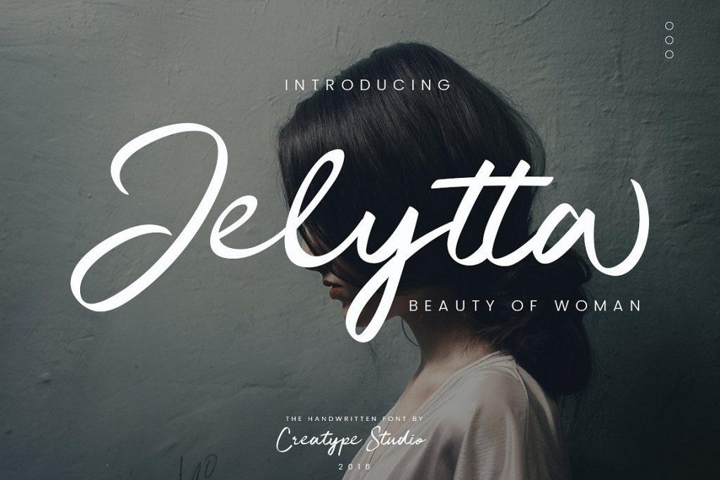 Free Download: Jelytta Handwritten Font