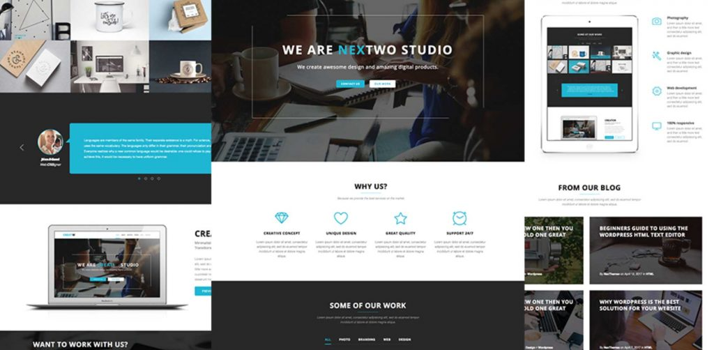 Free Download: Nextwo Business Sketch Template