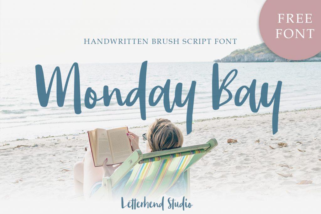 Free Download: Monday Bay Font