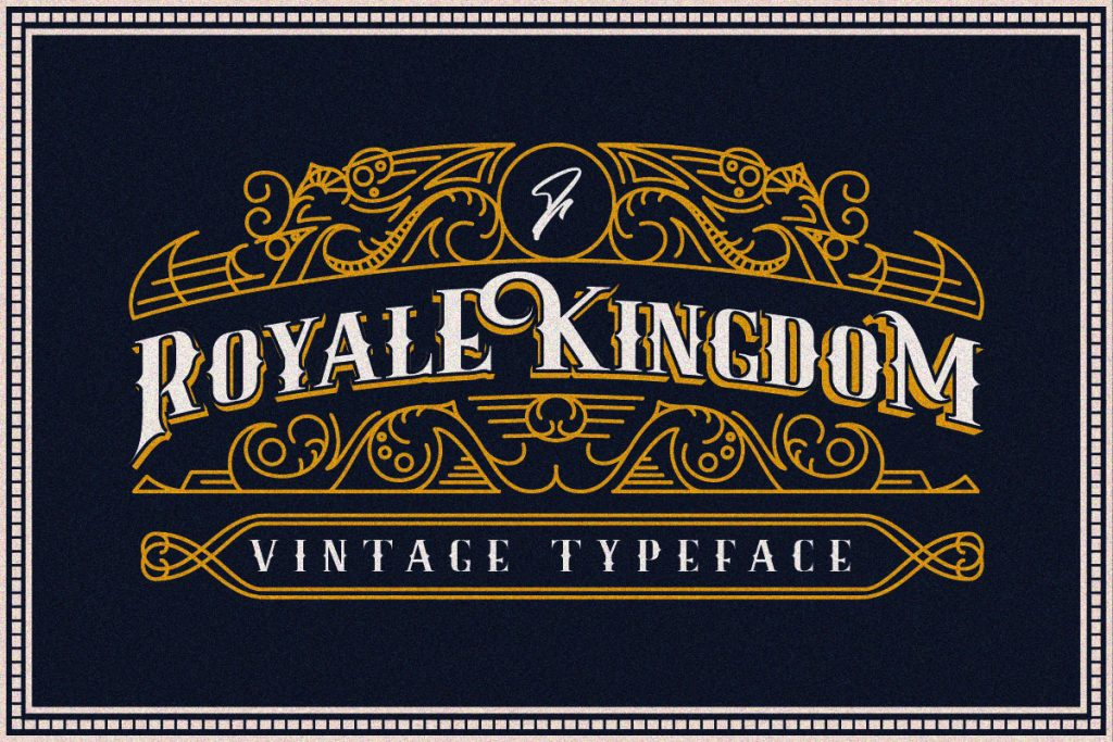 Free Download: Royale Kingdom Regular Font