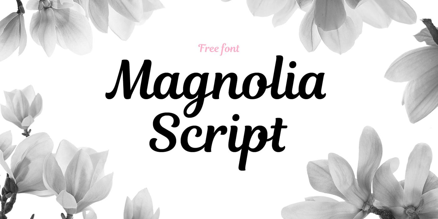 Free Download: Magnolia Script
