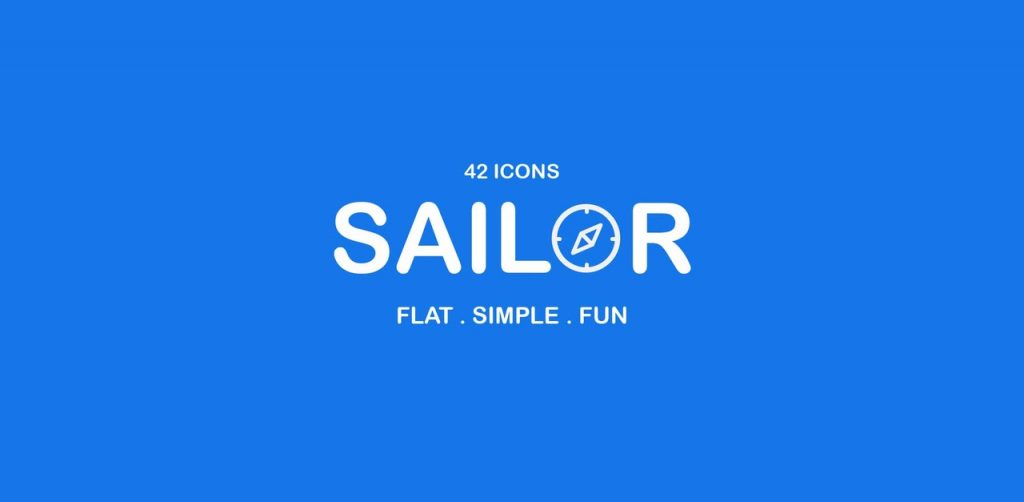 Free Download: Sailor UI Icon Pack