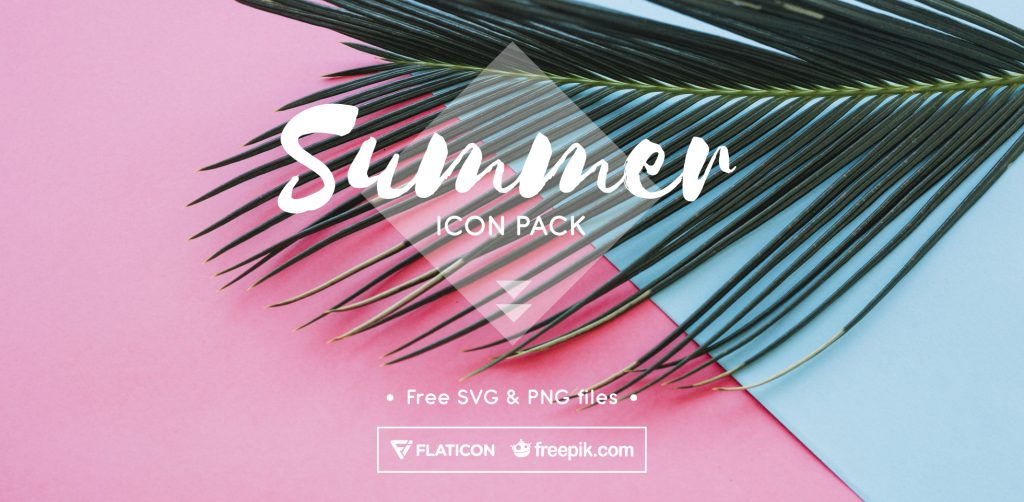 Free Download: Summer Icon Pack