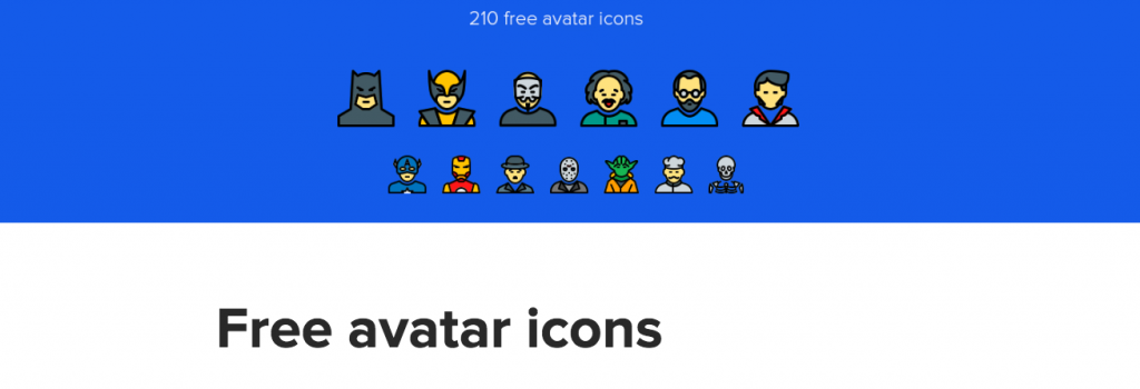 Free Download: Avatar Icons