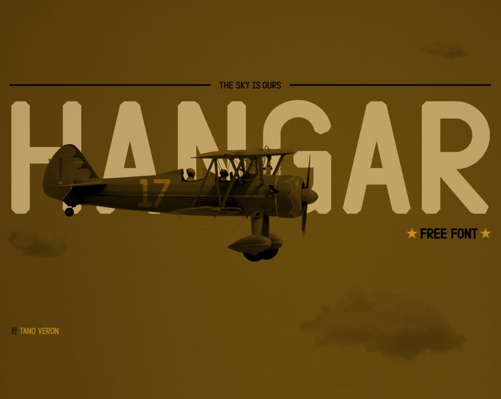Free Download: Hangar Font