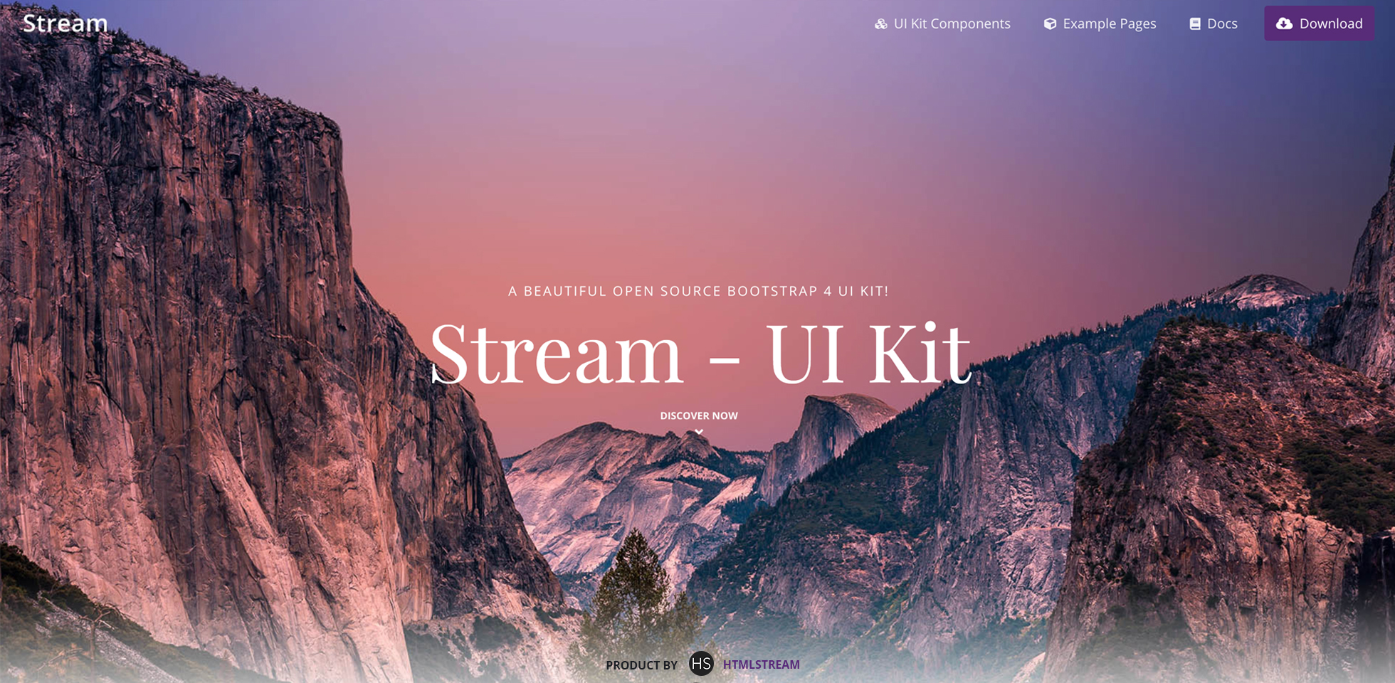Free Download: Stream - Bootstrap 4 UI Kit