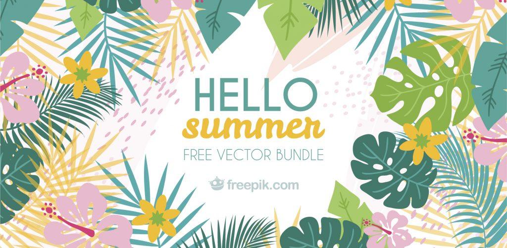 Free Download: Summer Mix Vector Bundle