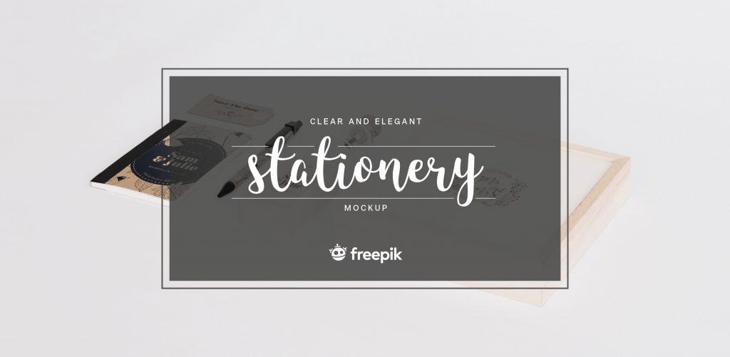 Free Download: Elegant Stationery Mock Up Set