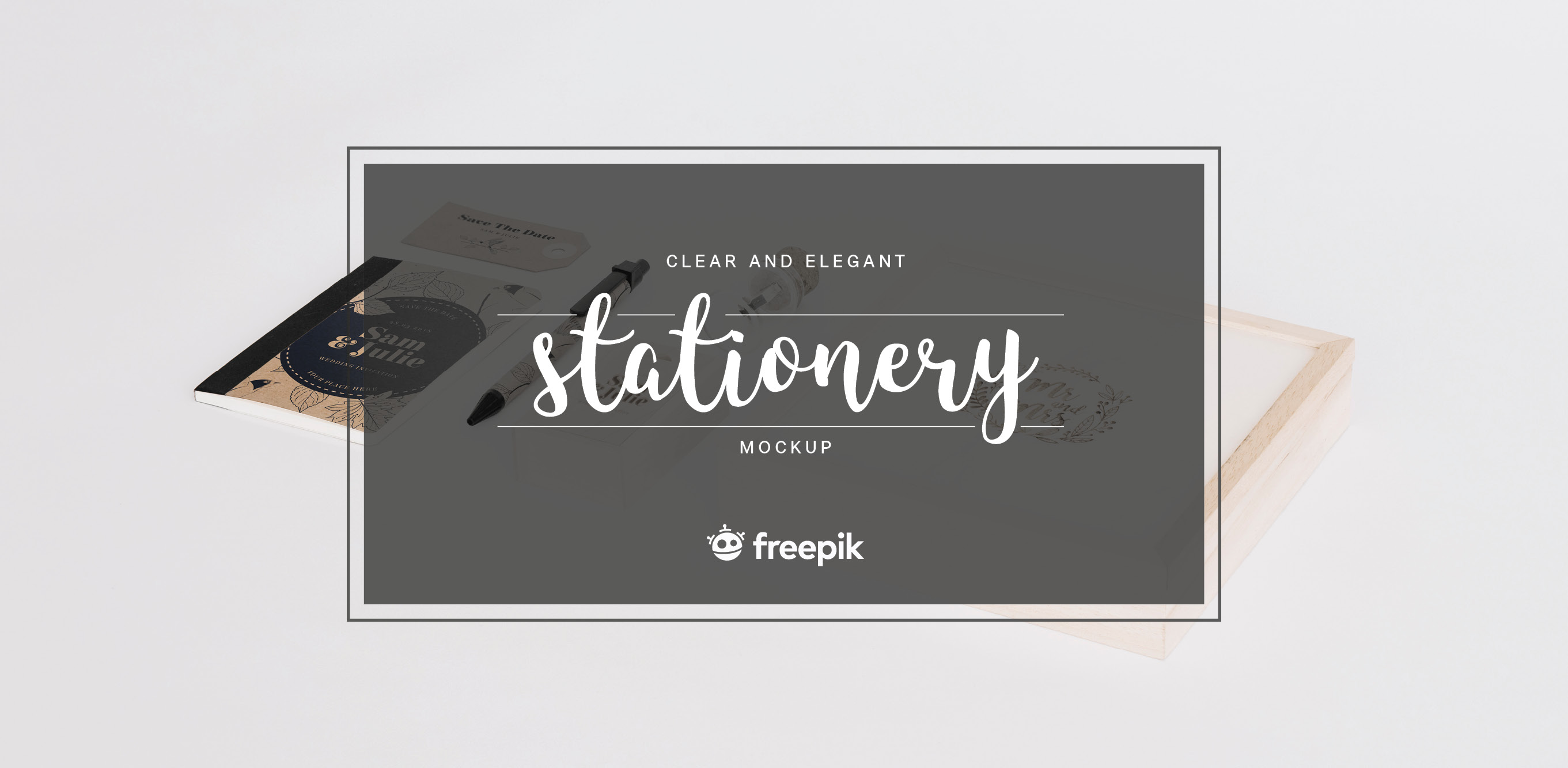 Free Download: Elegant Stationery Mock Up Set