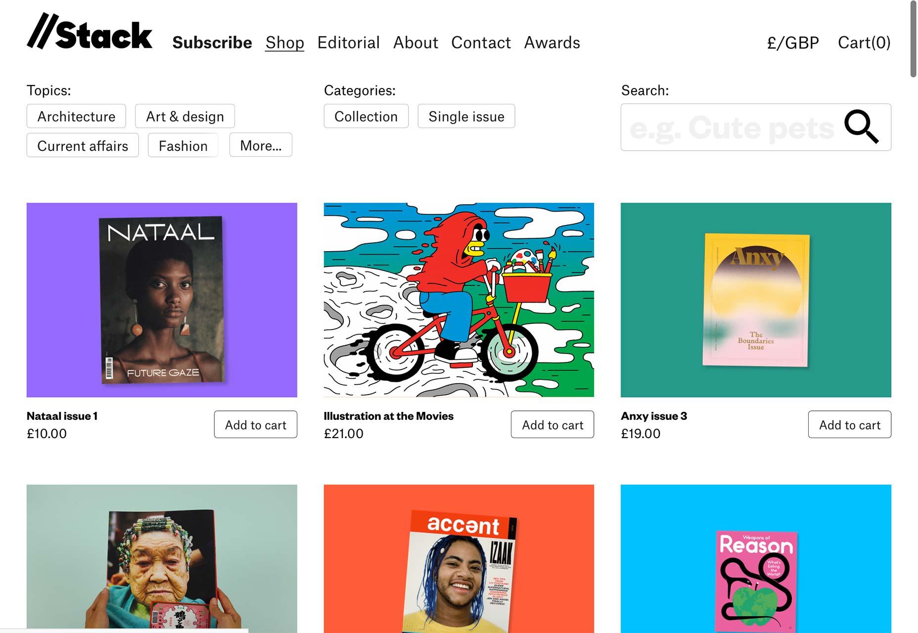 20 Freshest Web Designs, August 2018