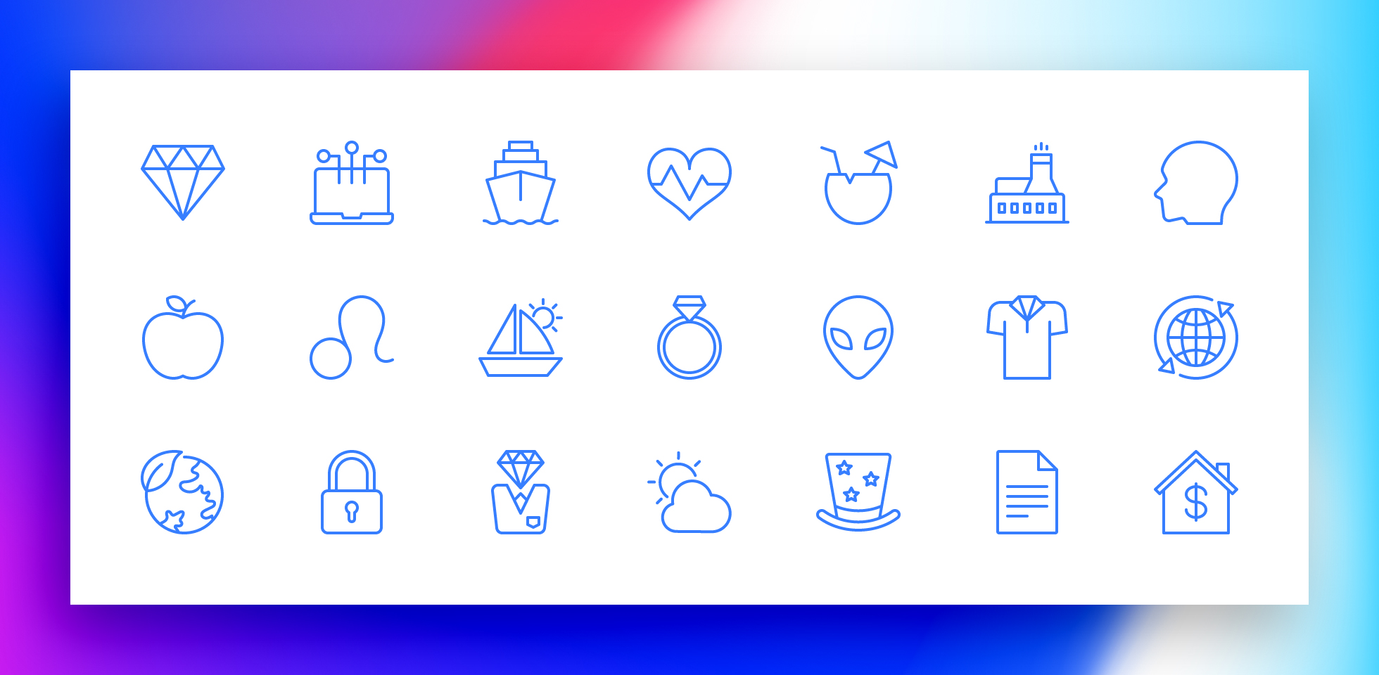 Free Download: Sleekons Minimal Icons