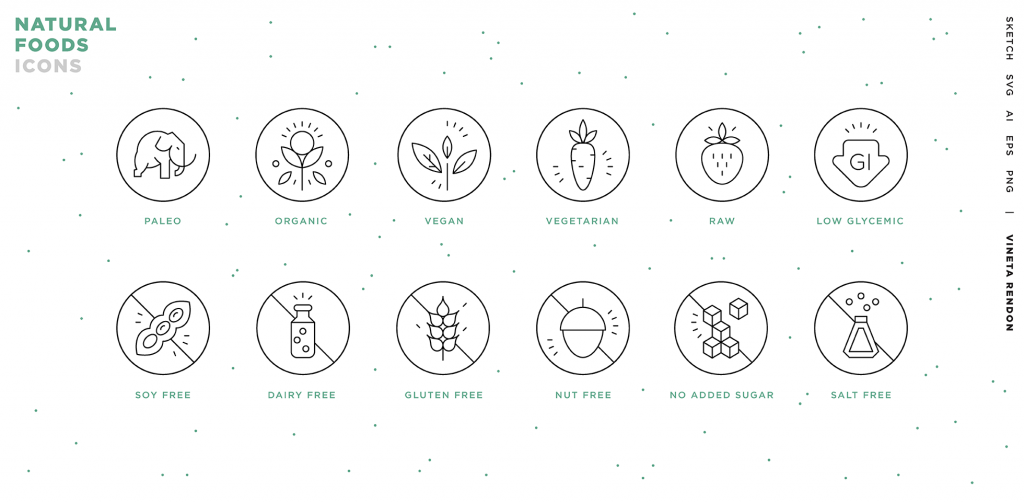 Free Download: Food Revolution Icons