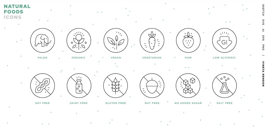 Free Download: Food Revolution Icons