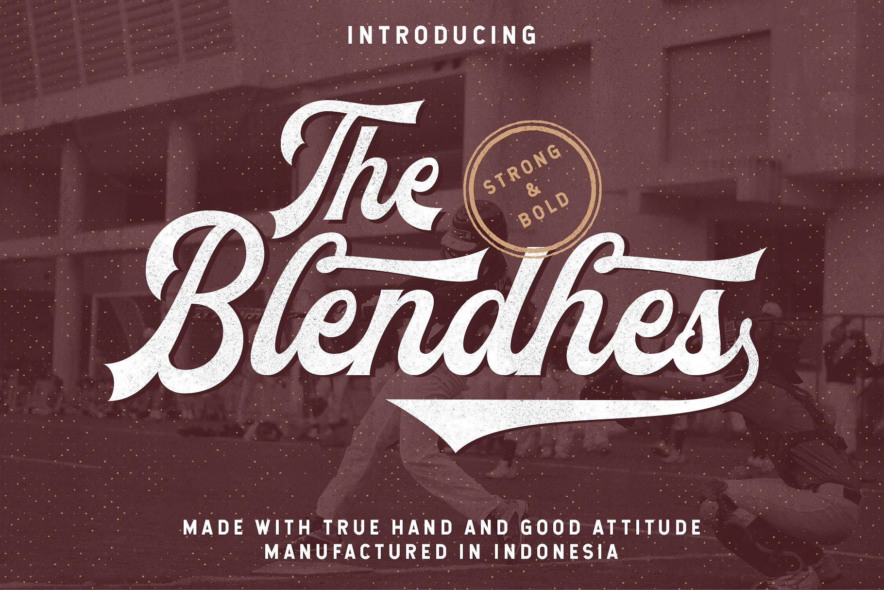 Free Download: The Blendhes Typeface