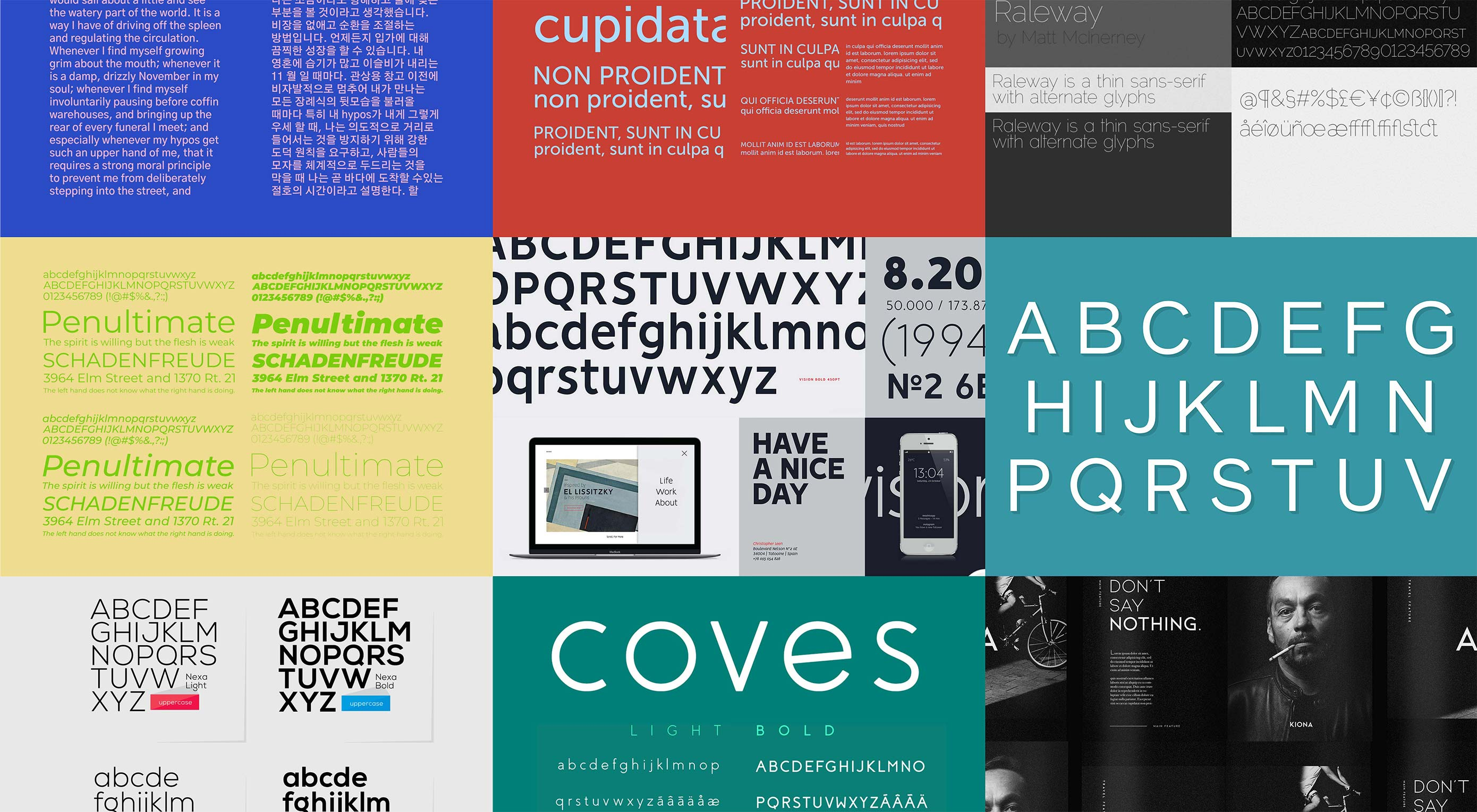 10 Free Font Alternatives to Gotham