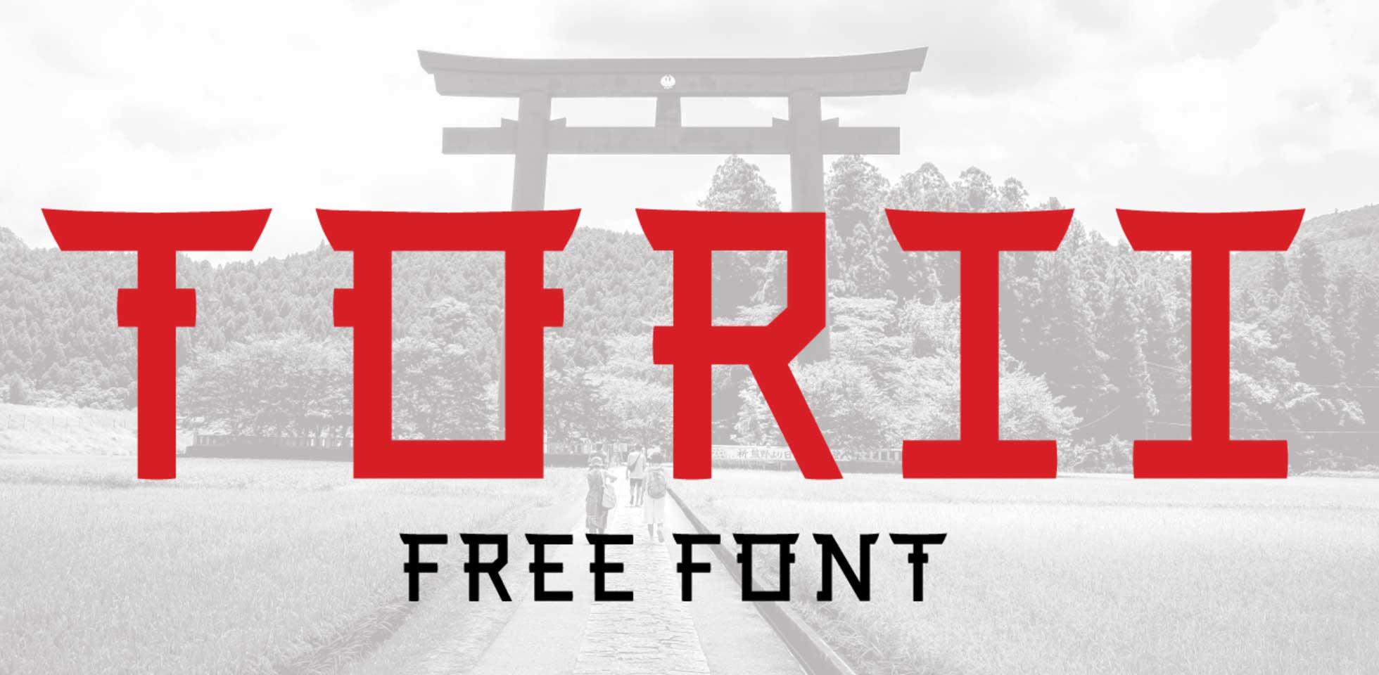 Free Download: TORII Font