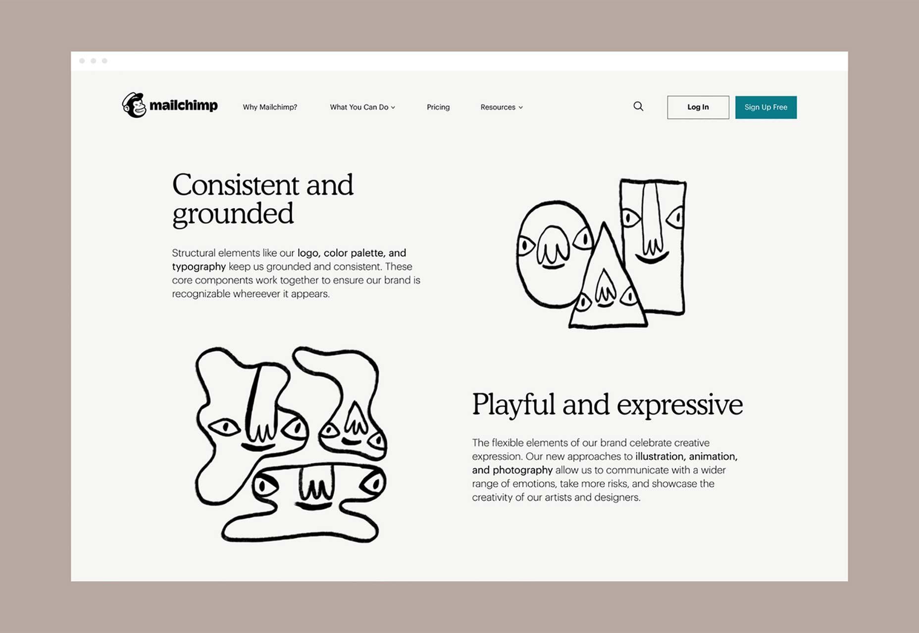 Mailchimp Unveils Quirky Rebrand