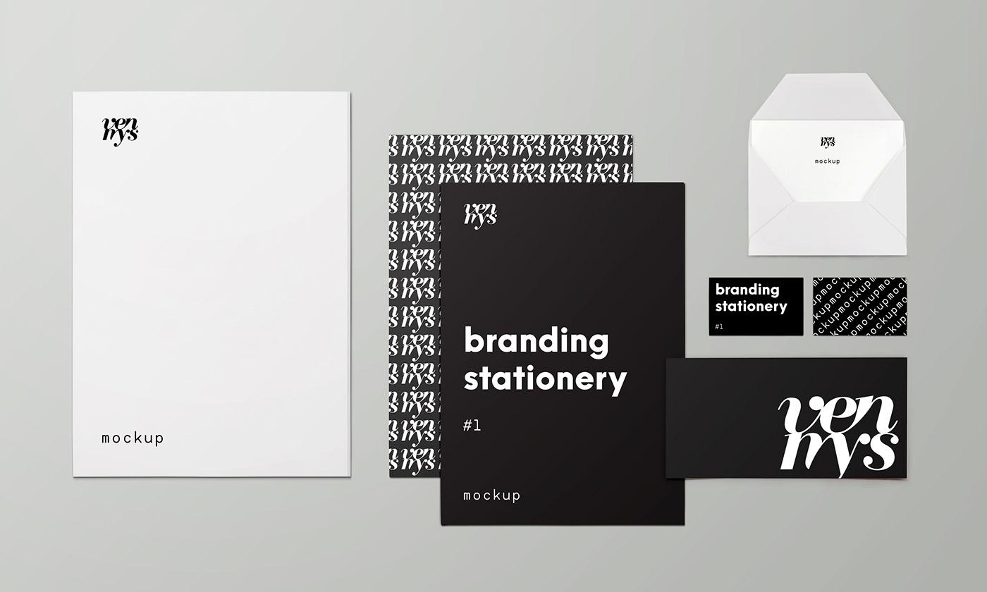 Free Download: Branding Stationery Mockup