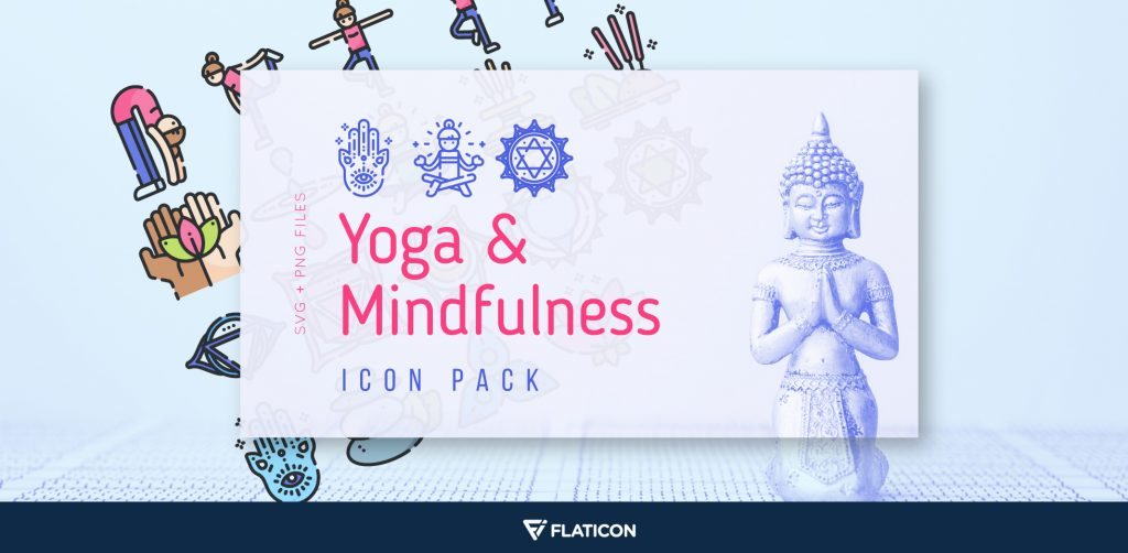 Free Download: Yoga & Mindfulness Icon Pack