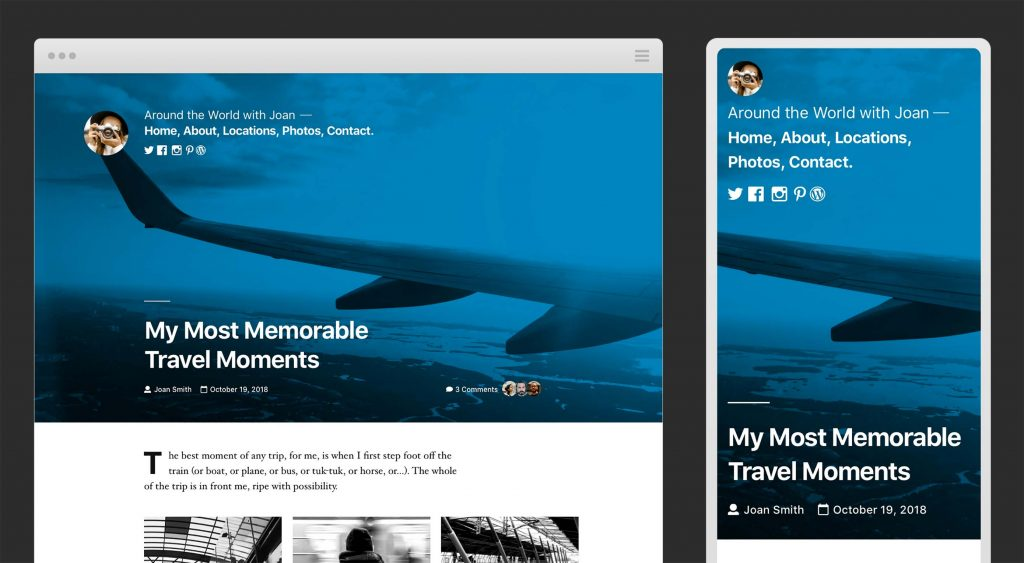 Previewing the WordPress Twenty Nineteen Theme
