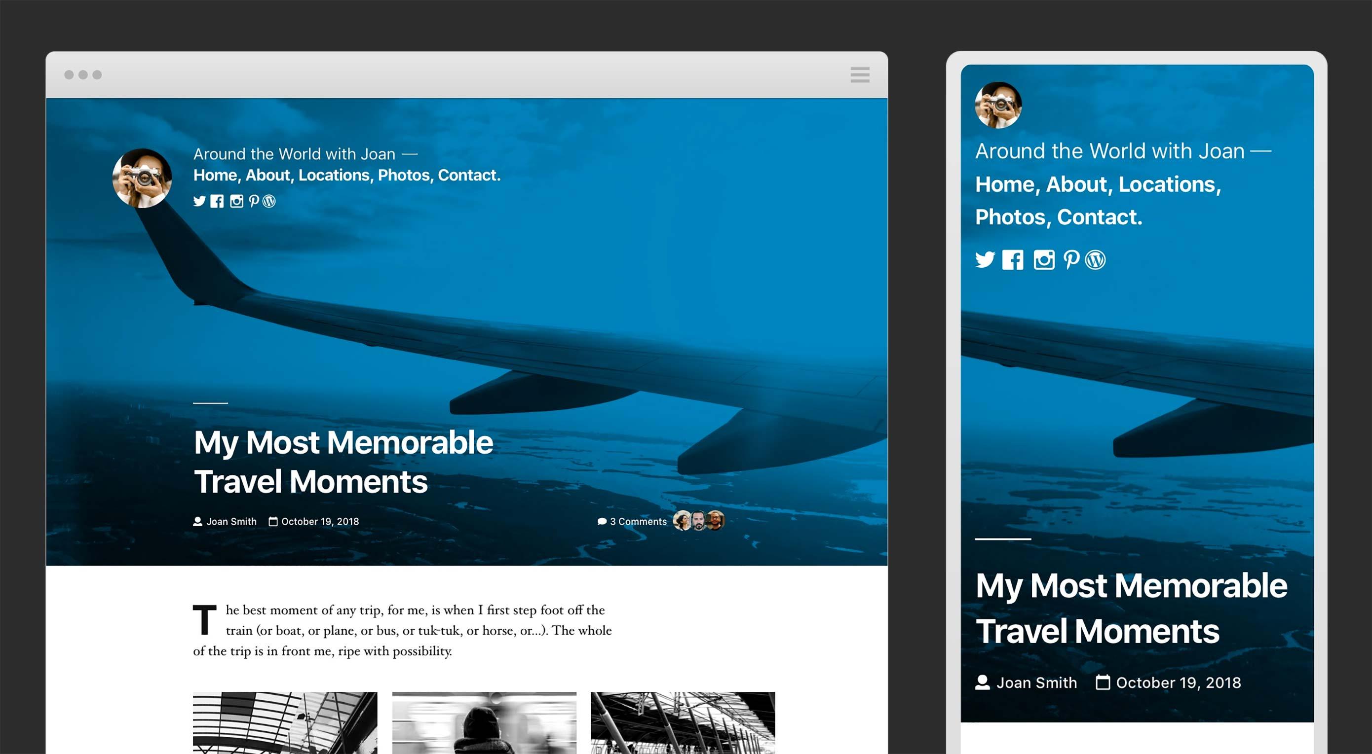 Previewing the WordPress Twenty Nineteen Theme