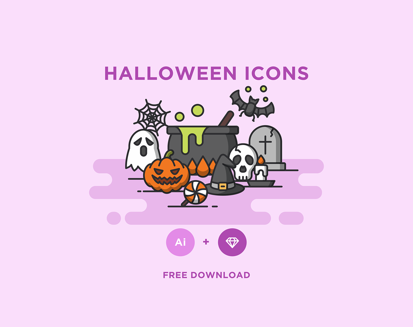 Free Download: Halloween Icons