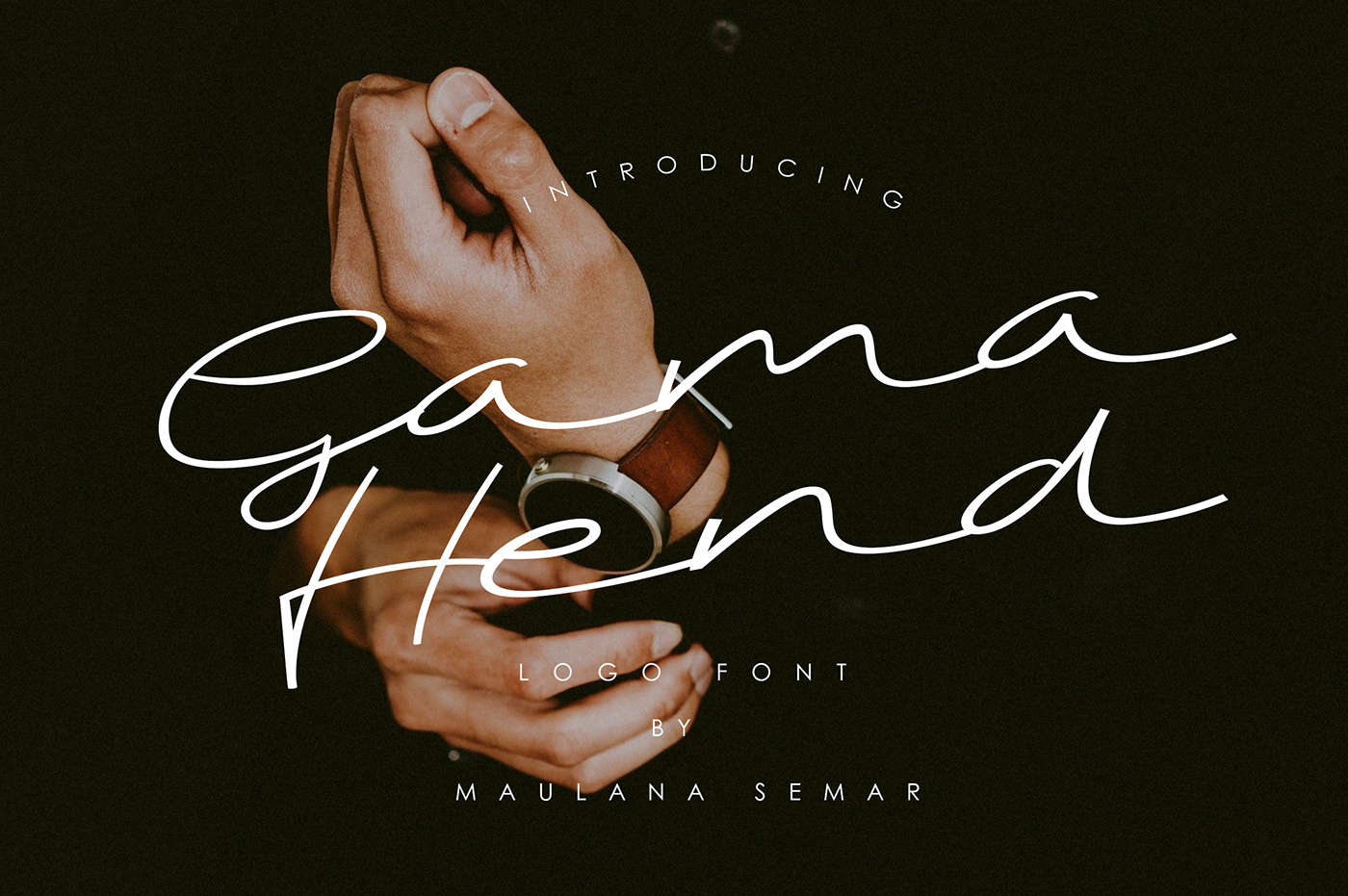 Free Download: Gama Hend Logo Font