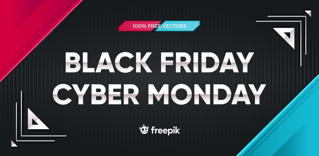 Free Download: Black Friday and Cyber Monday Banner Bundle