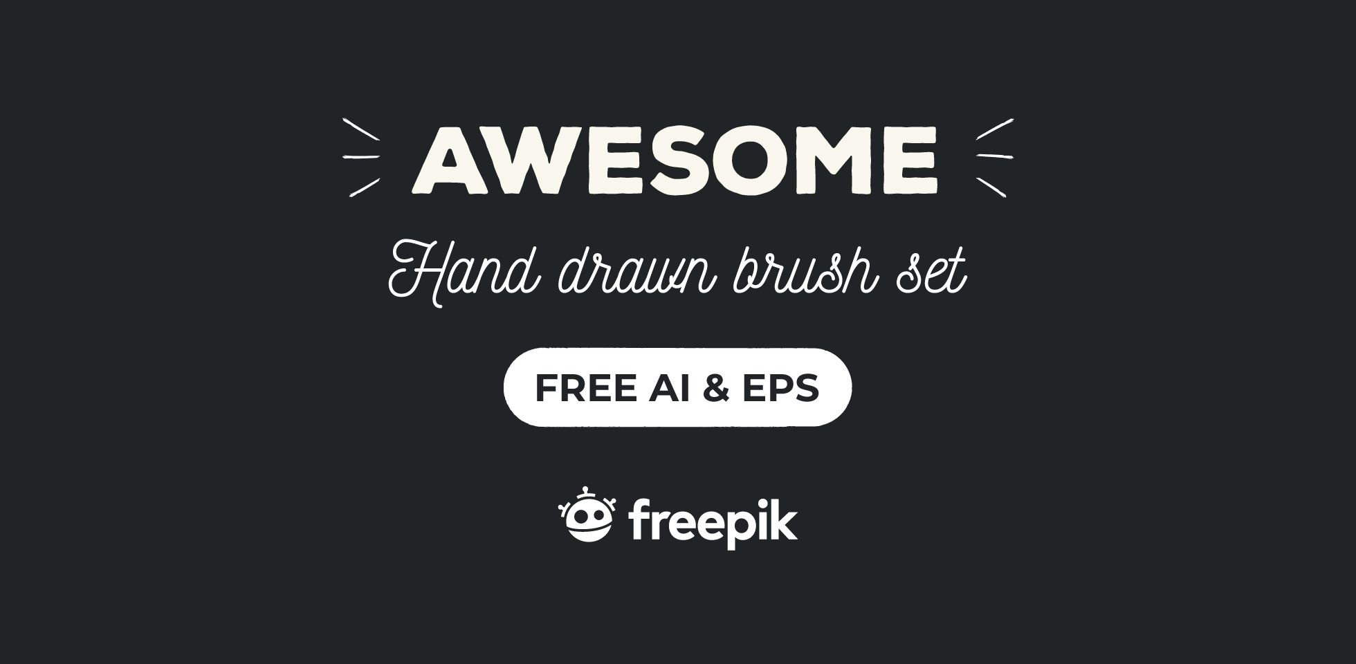 Free Download: Floral Brush Set